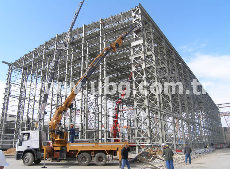SEDEF SHIPYARD BLOCK WORKSHOP - 3000 TONS