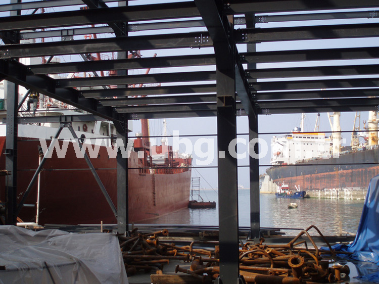 TERSAN SHIPYARD WORKSHOP AND ADMINISTRATIVE BUILDING - 135 TONS
